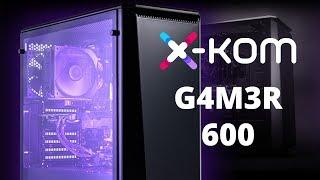 Opening i test komputera od X-KOM!