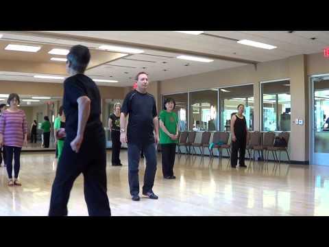 TIE A YELLOW RIBBON Line Dance Teach & Demo By Choreographer in Las Vegas