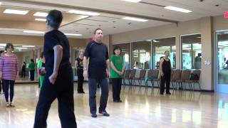 TIE A YELLOW RIBBON Line Dance Teach & Demo By Choreographer in Las Vegas