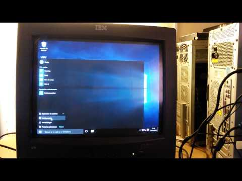 windows 10 rtm low ram attempt 4 windows 10 on 192 mb ram realtime youtube. Black Bedroom Furniture Sets. Home Design Ideas
