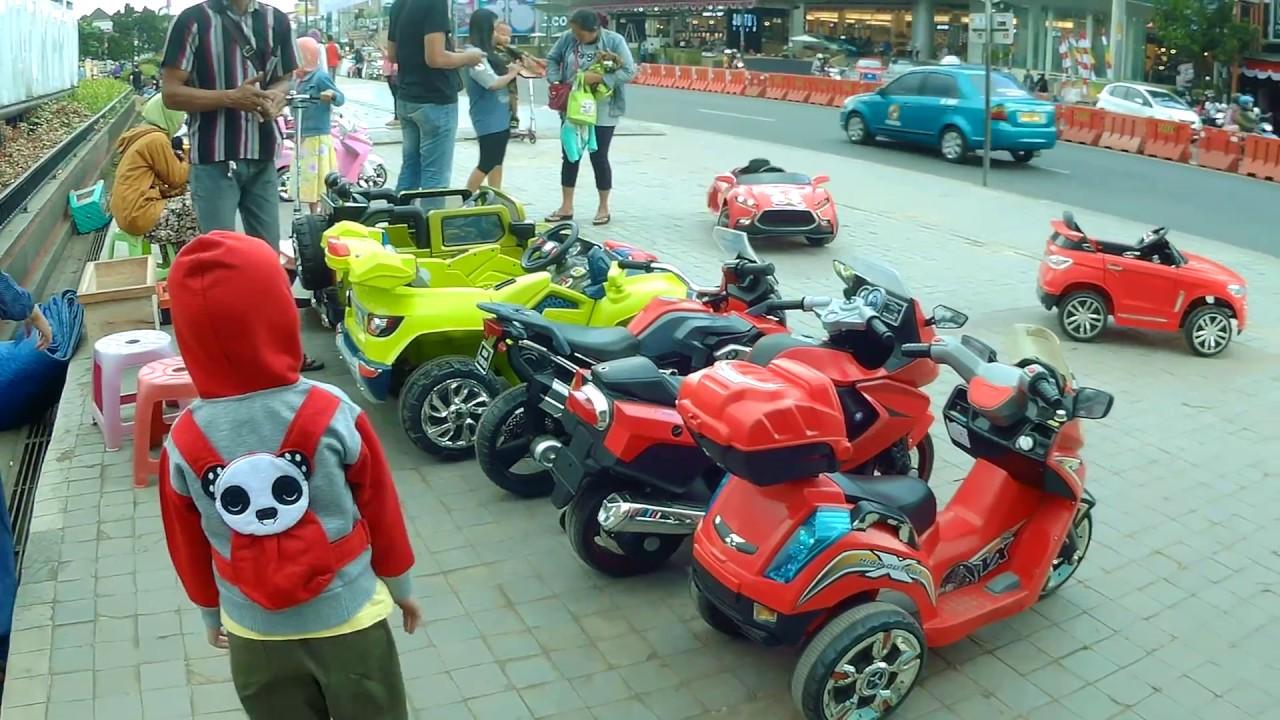 Mobil Mainan Anak Anak Permainan Anak Jaman Sekarang Mobil Mobilan Di Alun Alun Purwokerto Youtube