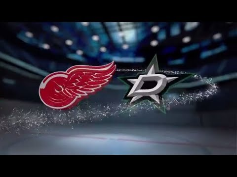 Detroit Red Wings vs Dallas Stars - October 10, 2017 | Game Highlights | NHL 2017/18. Обзор матча.