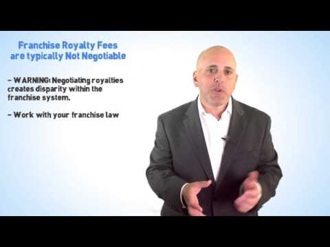 Are Franchise Royalty Fees Negotiable?