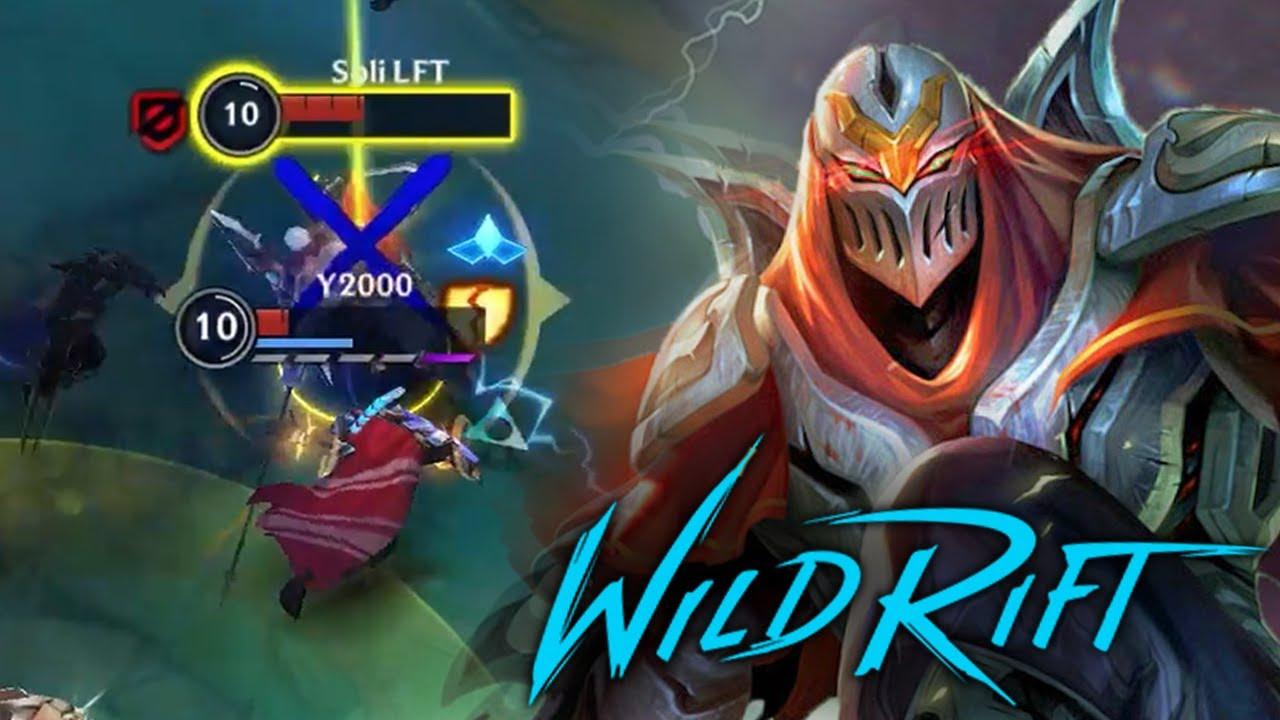 Dodging Zed Shadow! — Wild Rift