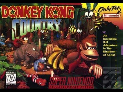 Guia Donkey Kong Country 101% - Mundo Nº 1 Jungla Kongo