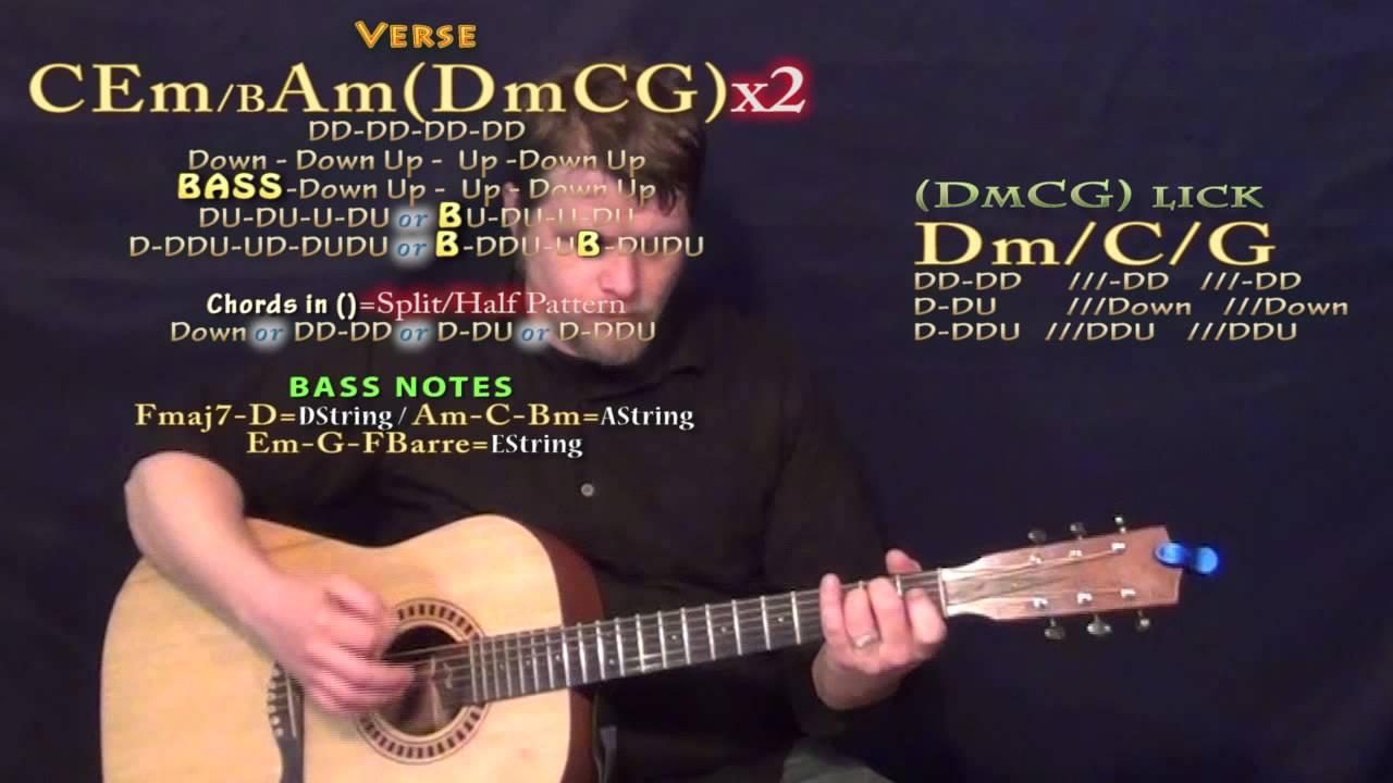 Conqueror Empire Cast Guitar Lesson Chord Chart Youtube