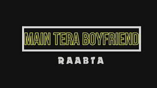 Raabta | Main Tera Boyfriend | Dance Choreography
