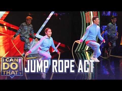 I Can Do That: Jump Rope Act | Pokwang, Gab and Next Level Octomix