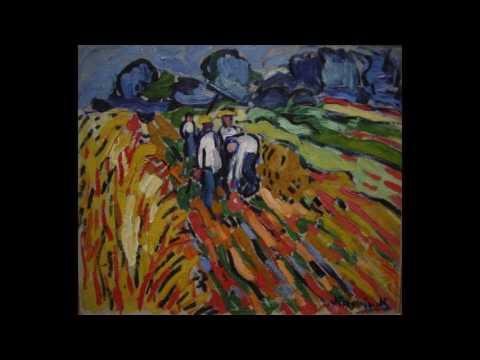 Maurice de Vlaminck  莫里斯·弗拉芒克  (1876-1958)  Cubism  Post-Impressionism  Les Fauves  French
