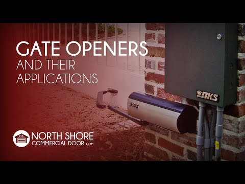 Gate Openers And Their Applications By NSCD