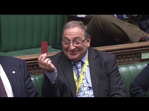 Theresa May's shown the red card by SNP MP