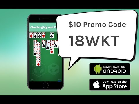 Freecell Solitaire Cube Promo code 2018 and Gameplay