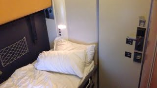 Last Voyage Paris - Berlin CityNightLine Train in Sleeper Deluxe Cabin
