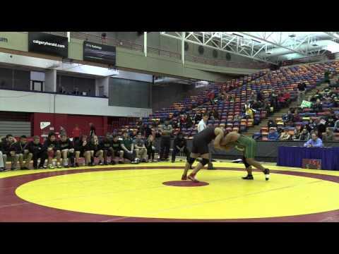 2015 Canada West Championships: 120 kg Manheet Kahlon vs. Saheel Khan