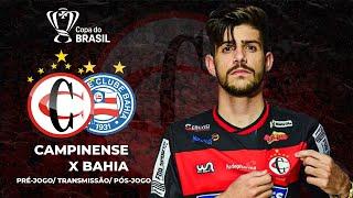Dia de Jogo l CAMPINENSE X BAHIA l Copa do Brasil l 09/03/2021