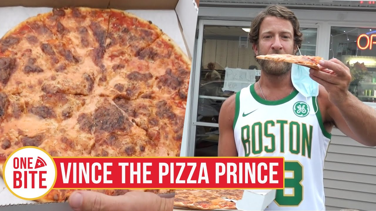 Barstool Pizza Review - Vince the Pizza Prince (Scranton, PA)