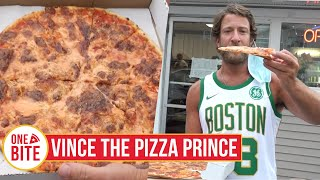Barstool Pizza Review - Vince The Pizza Prince  Scranton, Pa