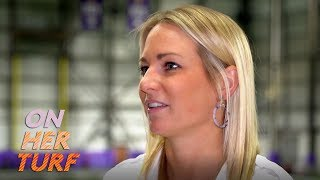 Vikings' Kelly Kleine on working for college scouting department I On Her Turf I NBC Sports
