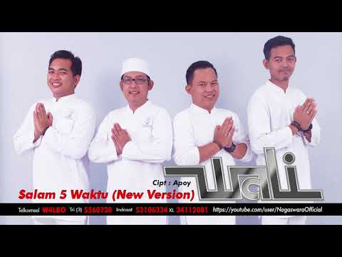 Wali - Salam 5 Waktu (New Version) (Official Audio Video)