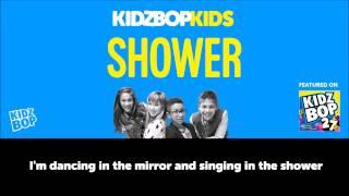 KIDZ BOP Kids – Shower (Official Lyric Video) [KIDZ BOP 27]