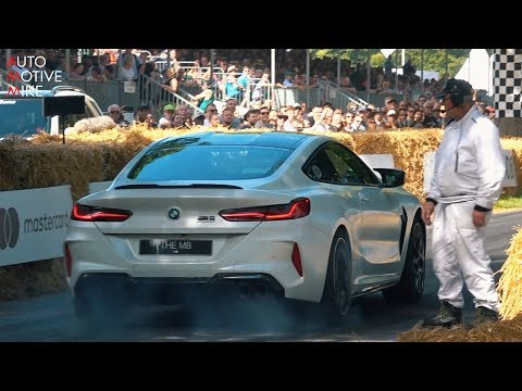 FIRST DECATTED BMW M8 COMPETITION IS EXTREMELY LOUD! - GOODWOOD 2019