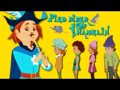Pied Piper Of Hamelin |  Fairy Tales For Children | 4K UHD