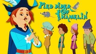 Pied Piper Of Hamelin - Fairy Tales For Children - 4K UHD