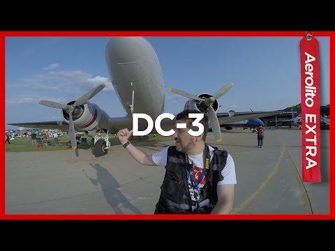 DOUGLAS DC-3 | VEJA DE PERTO #EXTRA