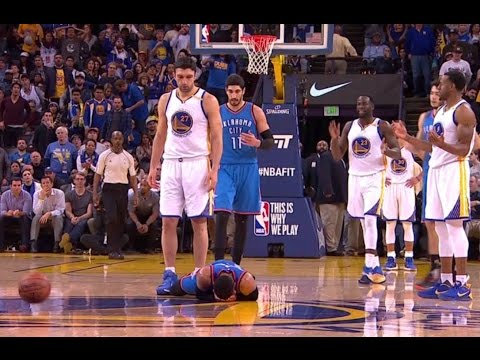 ZaZa SLAPS Westbrook in the Face and Stares him down PLUS post game interview