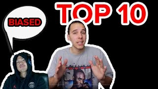 I'm DISAPPOINTED With AJ Lapray's TOP 10 BASKETBALL YOUTUBERS LIST!!! *SHOOK*