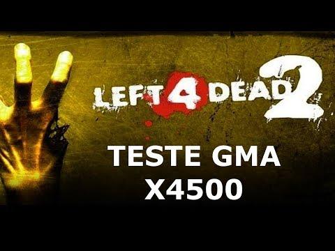 TESTE DESEMPENHO LEFT 4 DEAD 2 G41 GMA X4500 PC FRACO SEM PLACA DE VIDEO 2020