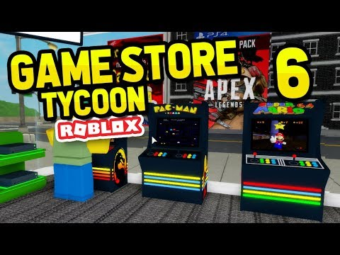 Buying Arcades Machines Roblox Game Store Tycoon 6 Youtube
