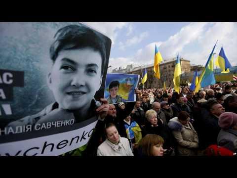 У Савченко в сизо пошла кровавая рвота