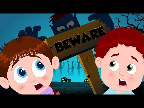 Beware Of The Dark | Schoolies Halloween Videos For Children