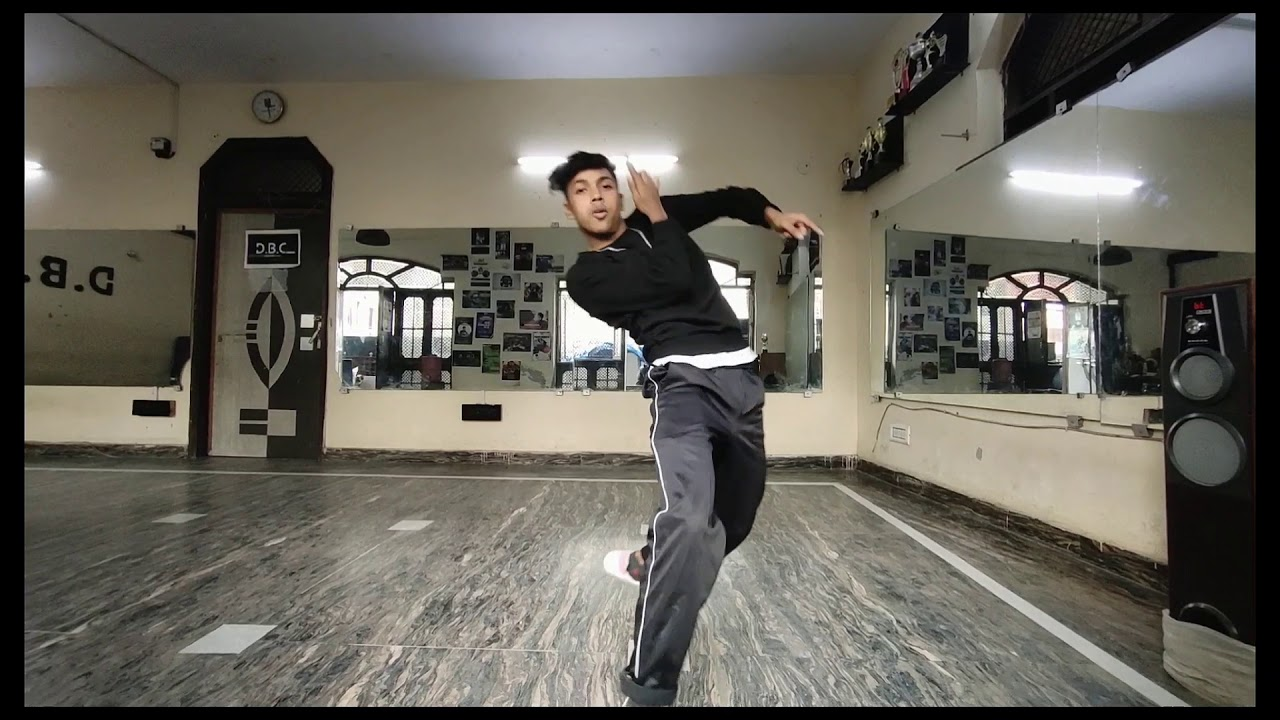 Popping Freestyle Dance    Higher Dubstep song    Akash DBC