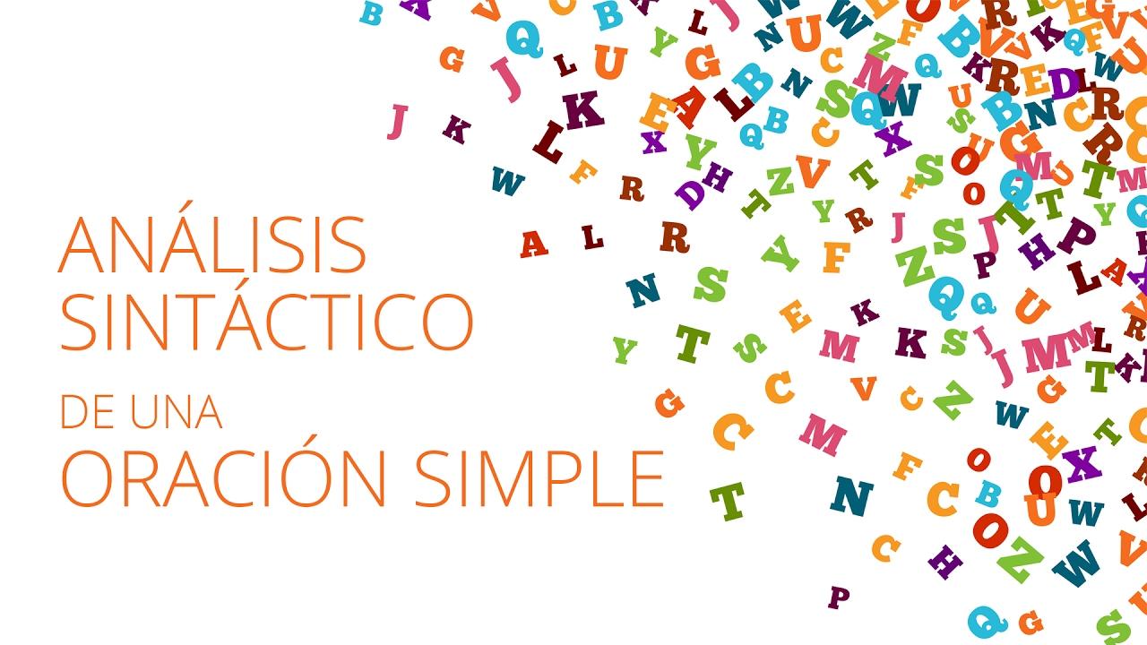 An lisis sint ctico de una oraci n simple masterd youtube for Definicion de cuarto