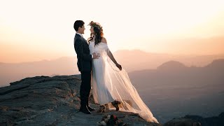A Love That Could Not Be Stopped | Elopement at Mount Lemmon | Covid 19 Elopement