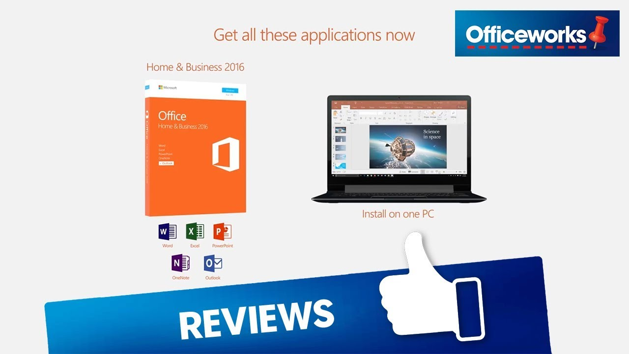 Microsoft Office Home and Business 2016 - YouTube