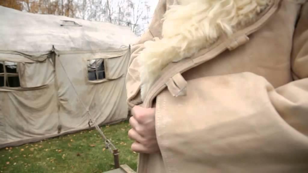 Бушлат Афганка 46-2 Pea coat Afghan 46-2 - YouTube