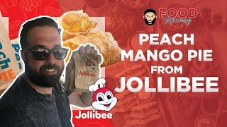 Jollibee Peach Mango Pie Review  Filipino Fast Food  Best Fast Food Dessert Pie?