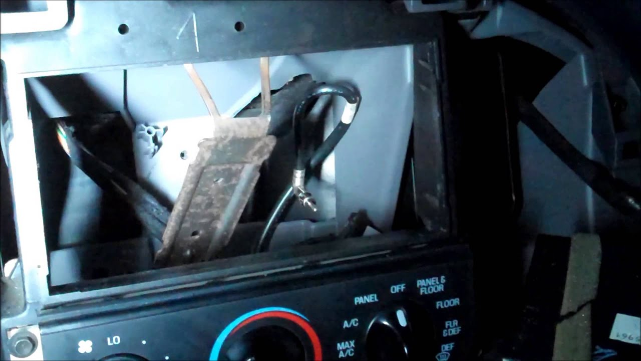 1997 F150 Head unit install - YouTube