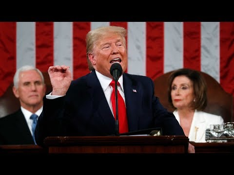 Watch Donald Trump's full State of the Union address