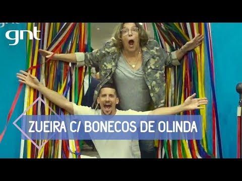 Barbara Gancia e Caio Braz dão um 'rolê' pela cidade | Saia Justa Por Aí: Recife