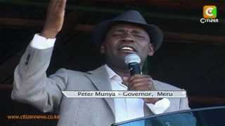 Meru Leaders Back Muthaura's Appointment