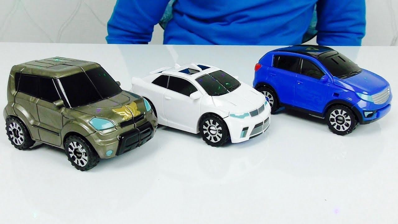 Трансформеры Автоботы Коллекция Игрушек для Мальчиков и Машинки ТОБОТЫ из мультика для детей