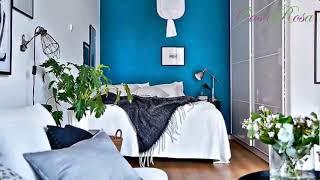 Gambar cover Color azul en las paredes de interior cincuenta dise±os geniales