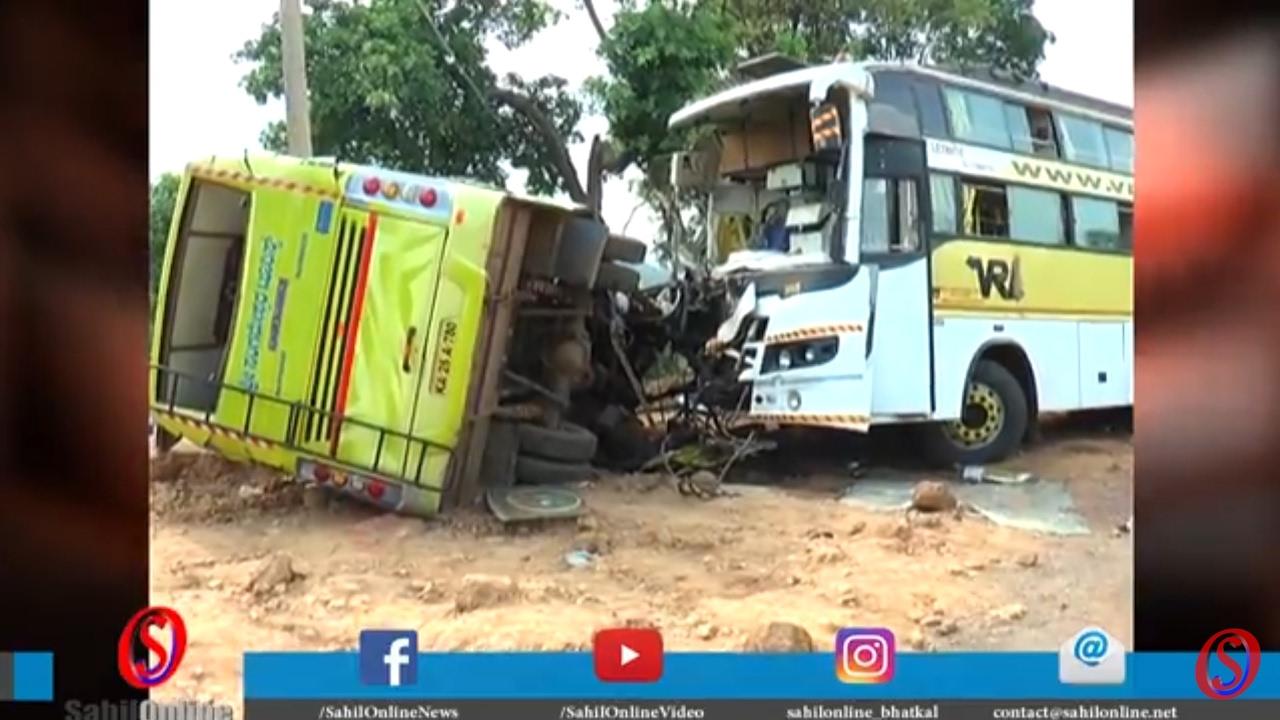Special report - 8 killed, more than 25 injured as bus rams tempo at Manki  Ananthwadi NH66 - Bhatkal