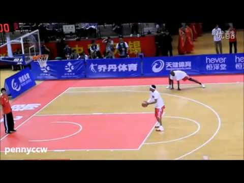 Allen Iverson Highlight vs Stephon Marbury Beijing Shougang *US Legend China Tour Wuxi Game