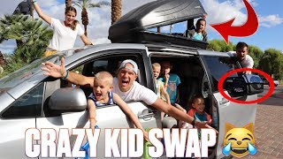 WE BOUGHT A CAT FOR SOMEONE ELSE'S KIDS WITHOUT TELLING THEIR PARENTS | CRAZY KID SWAP