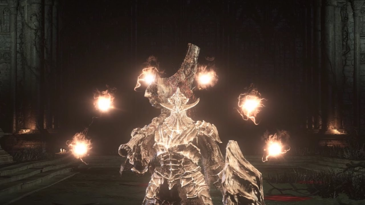(Dark Souls 3) The Dragonslayer Armour Defends Filianore